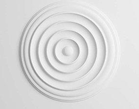 Round White Ornament 3D