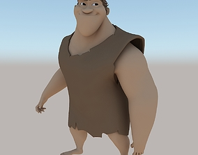 Grug Crood Character 3D asset game-ready