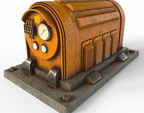 3D asset Industrial Electrical Generator
