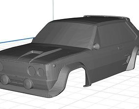 Fiat 131 - Seat 131 Abarth Body Car Printable 3D