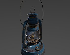 3D asset Little Wizard Oil Lantern 8K