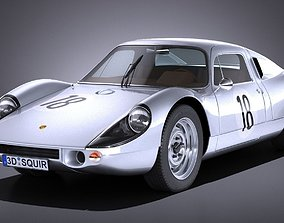 3D model Porsche 904 Carrera GTS 1963-1965