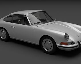 Porsche 911 1968 3D model