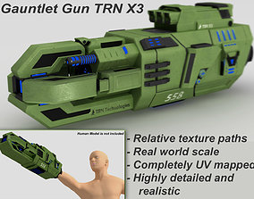 3D Gauntlet Gun TRN X3