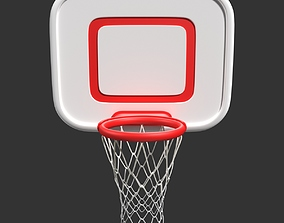 Basket Ball Hoops 3D model