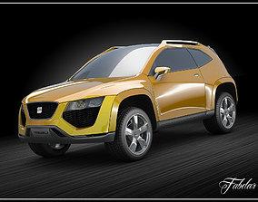 Seat Trib concept 3D model