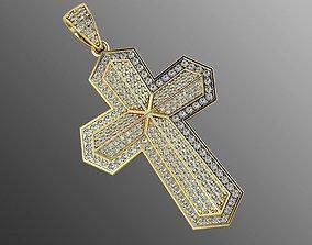 3D print model Pendant od 7 cross