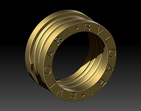 BVLGARI Ring 3D printable model jawelry