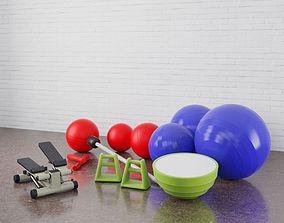 Gym equipment 20 am169 3D