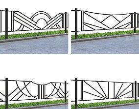 3D model Lawn fences Part 2