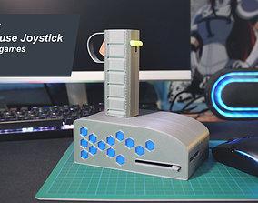 3D printable model PC Mouse FPS Game Joystick pc