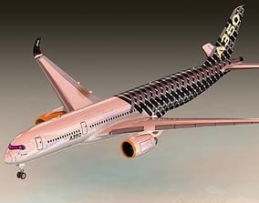 AIRBUS A350 3D