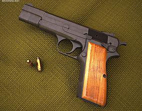 Browning Hi Power 3D model