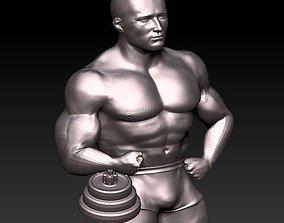 3D print model bodybuilder