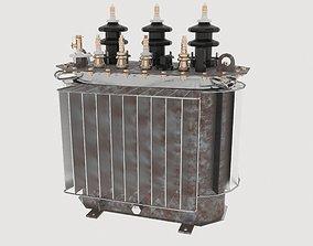 3D Oil Power Transformer