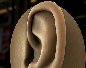 3D Real Time Textured Human Ear