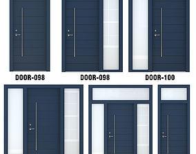 3D Door Collection-002 Blue