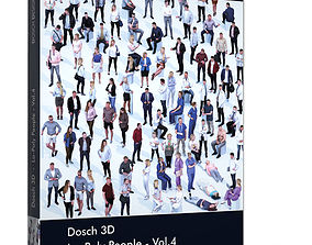 Dosch 3D - LoPoly People Vol 4 realtime