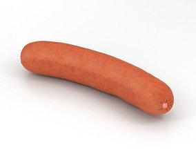 Sausage 3D model wiener