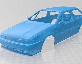 Volvo 480 1986 Printable Body Car