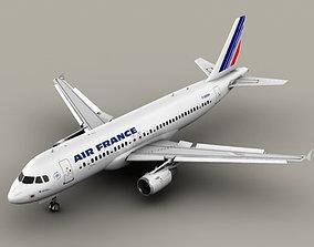 Airbus A320 Air France 3D
