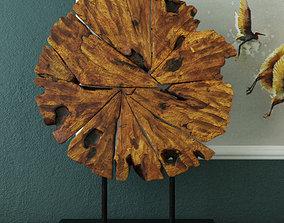 3D Chip Wood Decoration