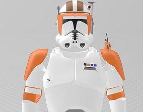 3D printable model Star Wars Clone Wars Commander Cody 1