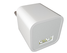 Apple 5W USB Power Adapter 3D model