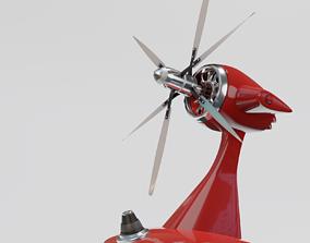 Fan propeller 3D