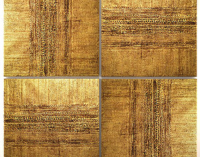 3D model Collection of paintings with gold for walls 10