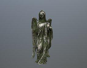 Angel Statue 2 3D asset