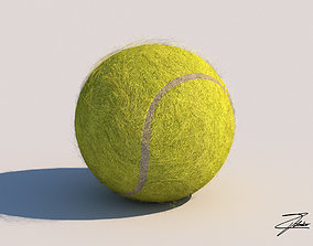 Tennis ball 3D model realtime