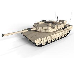 Tank Abrams US 3D model