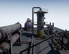 3D model Industrial Vessels PBR PACK