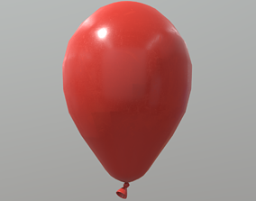 Balloon 3D asset VR / AR ready