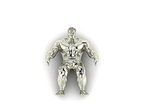 3D print model hulkpendant