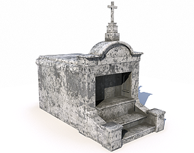 Mausoleum - tomb 1 3D model