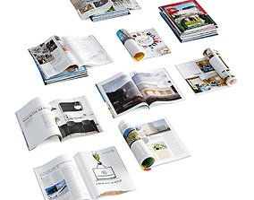 Magazines 3D model magazines