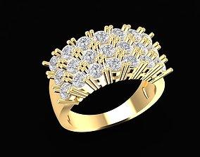 3D print model 1691 Diamond ring