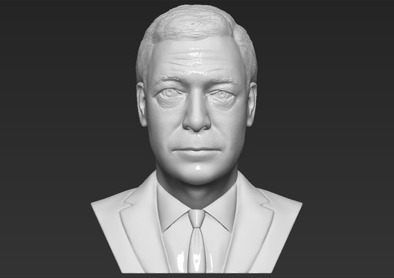 Nigel Farage bust for 3D printing