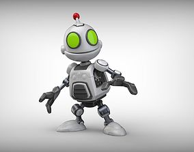 Clank Ratchet and Clank Robot 3D printing scifi