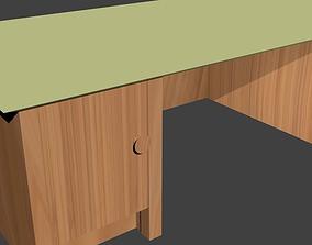 Desks pack 01 3D model