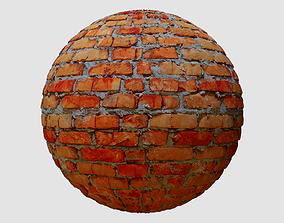 3D Old Brick Wall PBR Texture