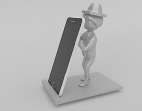 3D print model Phone Holder Man