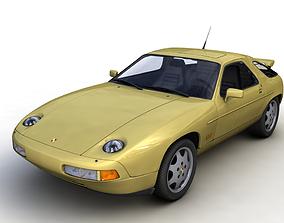 PORSCHE 928 GT 1991 3D model
