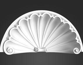 3D White Arch