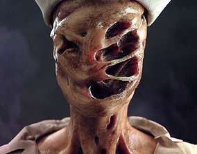 3D model Silent Hill The Nurse