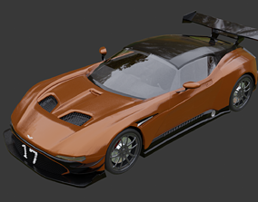 aston martin vulcan modified version 3D