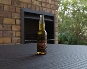 3D model beverage Beer Bottle