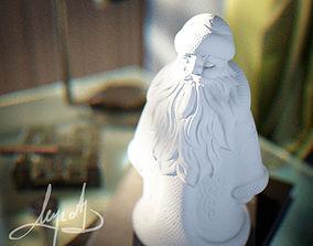 3D print model claus Santa Claus